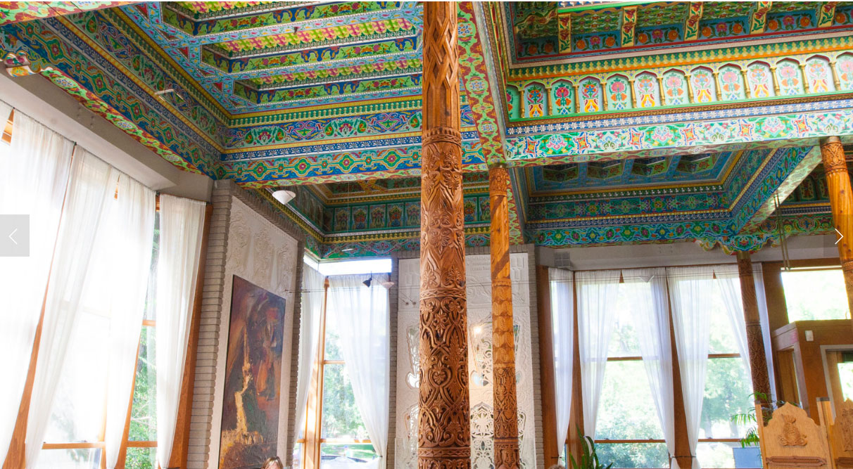 In a first, Boulder landmarks Dushanbe Teahouse interior
