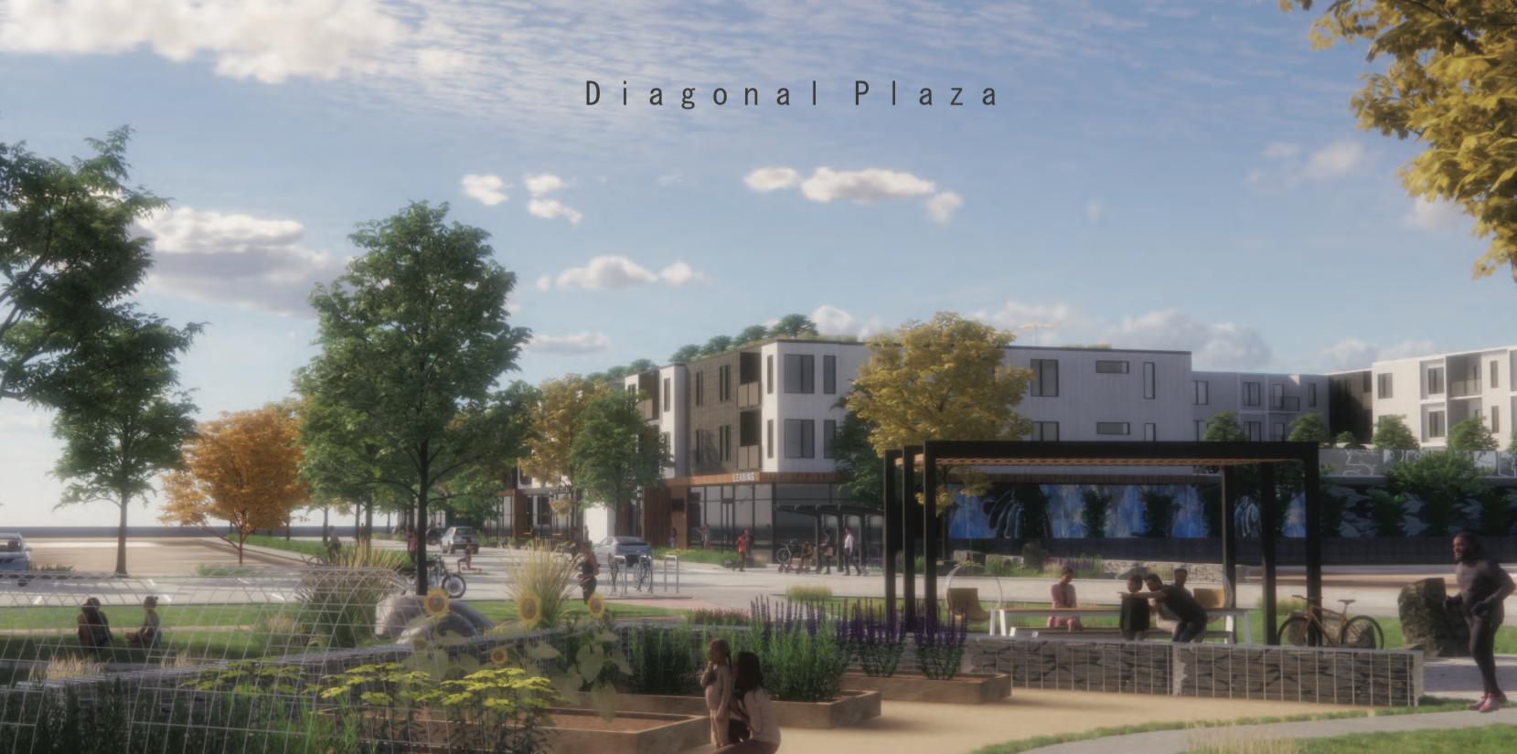 After decade of decline, (partial) plans for Boulder's Diagonal Plaza